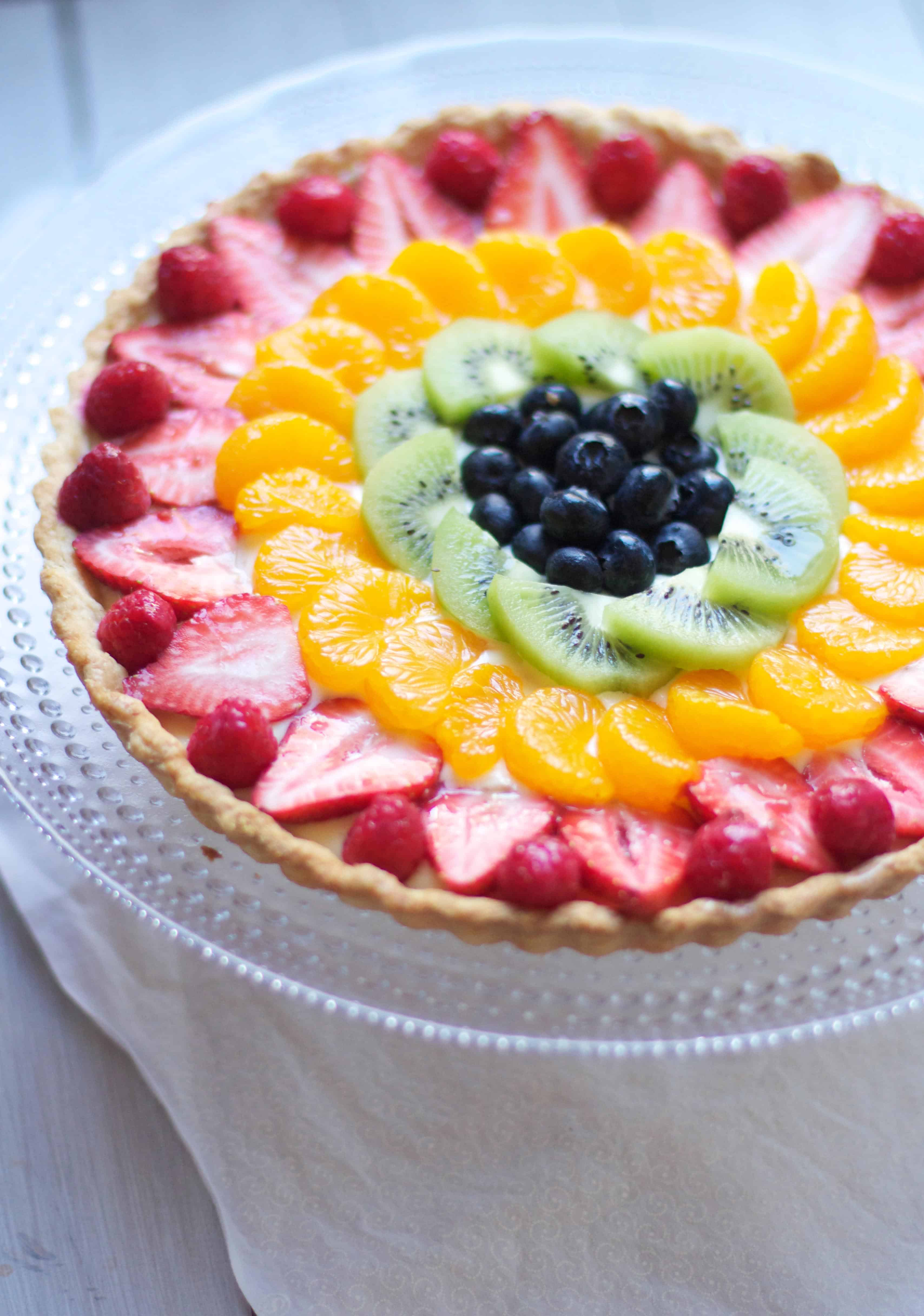 fruit tarts fruits healthy skin