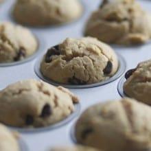 Peanut Butter Chocolate Chip Mini-Muffins