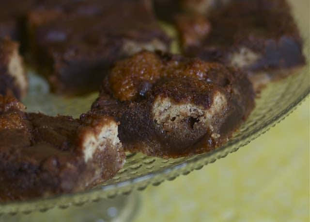 Banana Caramel Brownies