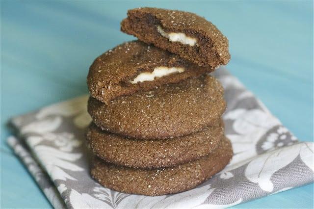 Stuffed Ginger Cookies
