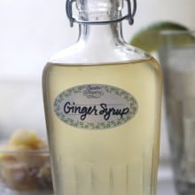 Homemade Ginger Syrup, Ginger Candy and Ginger Ale
