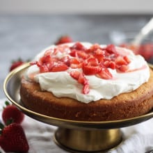 Strawberry Buttermilk Cake
