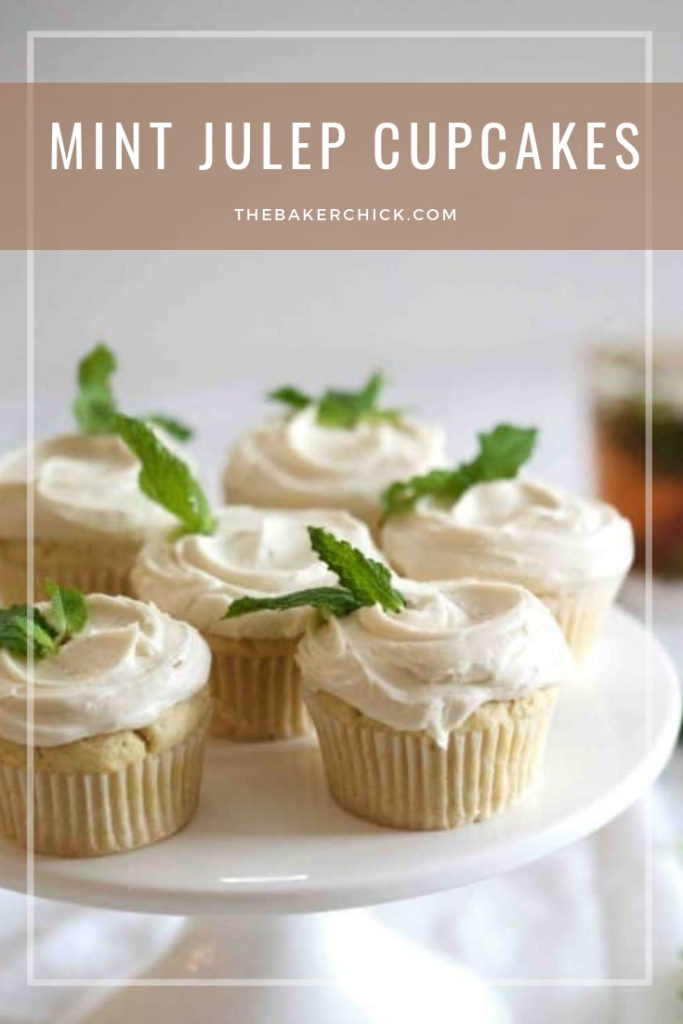 Mint Julep Cupcakes- perfect for #DerbyDay!