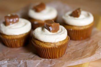 Triple Pumpkin Cupcakes