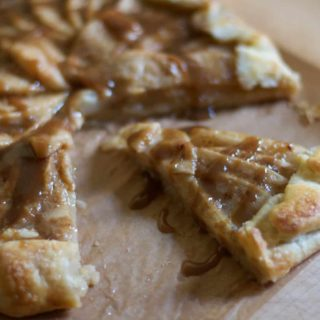 Pear Toffee Galette