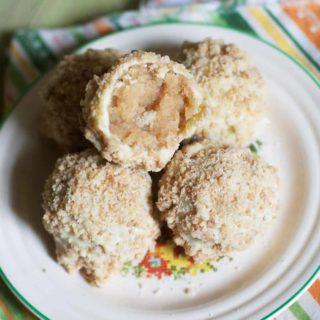 Apple Pie Truffles- The Baker Chick