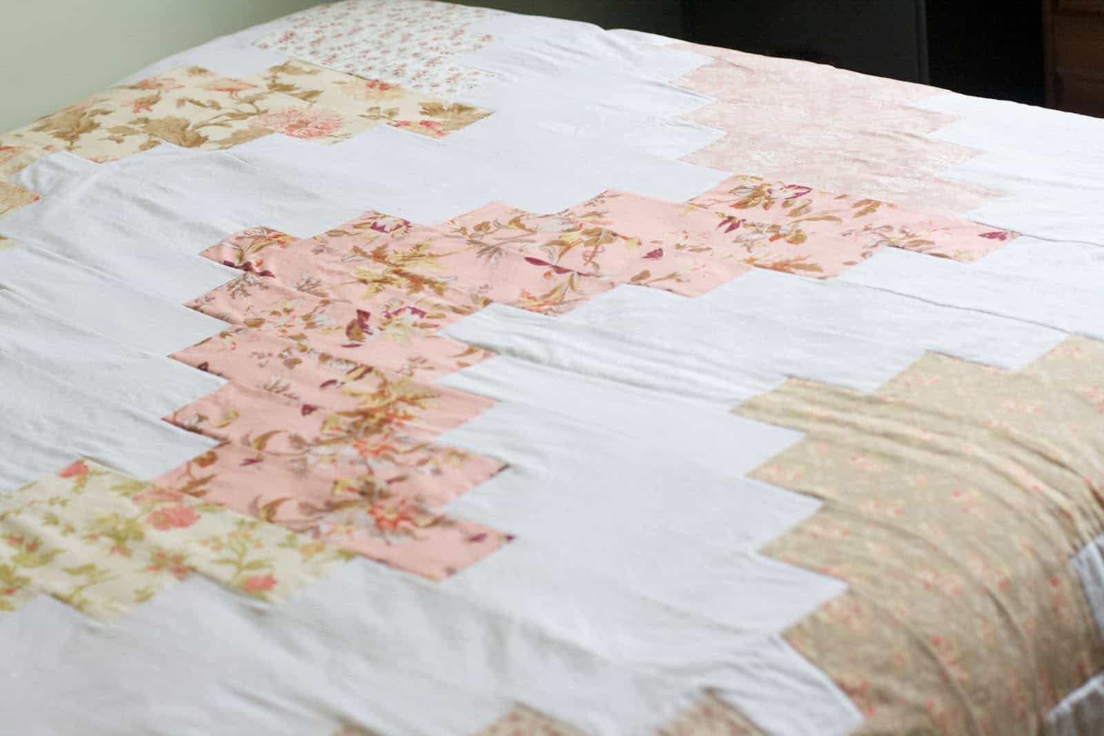 Behind the Blog- Wedding Napkin Quilt