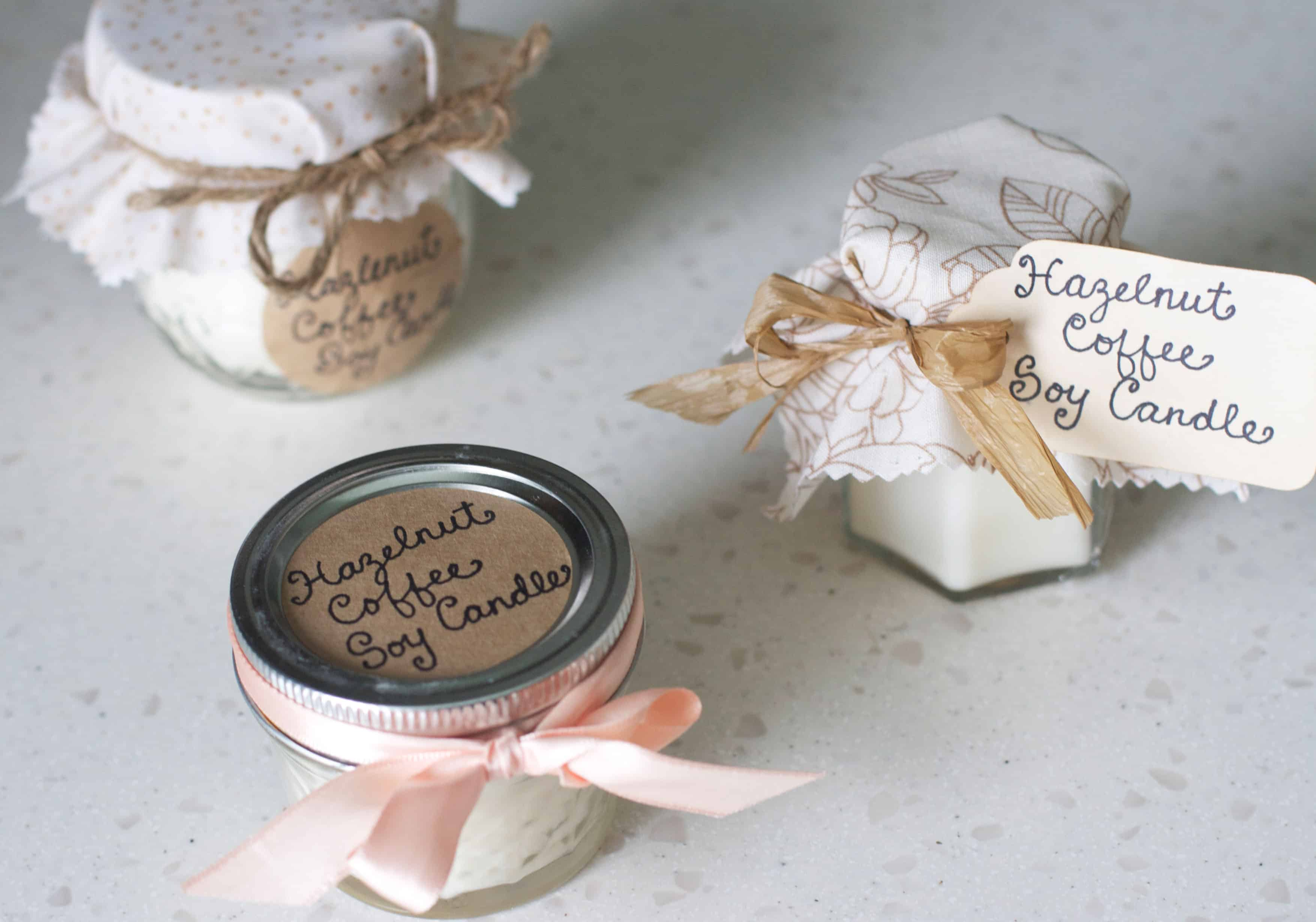 Diy Homemade Soy Candle Tutorial