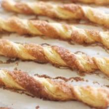 Cinnamon Twists (plus quick puff pastry how-to)