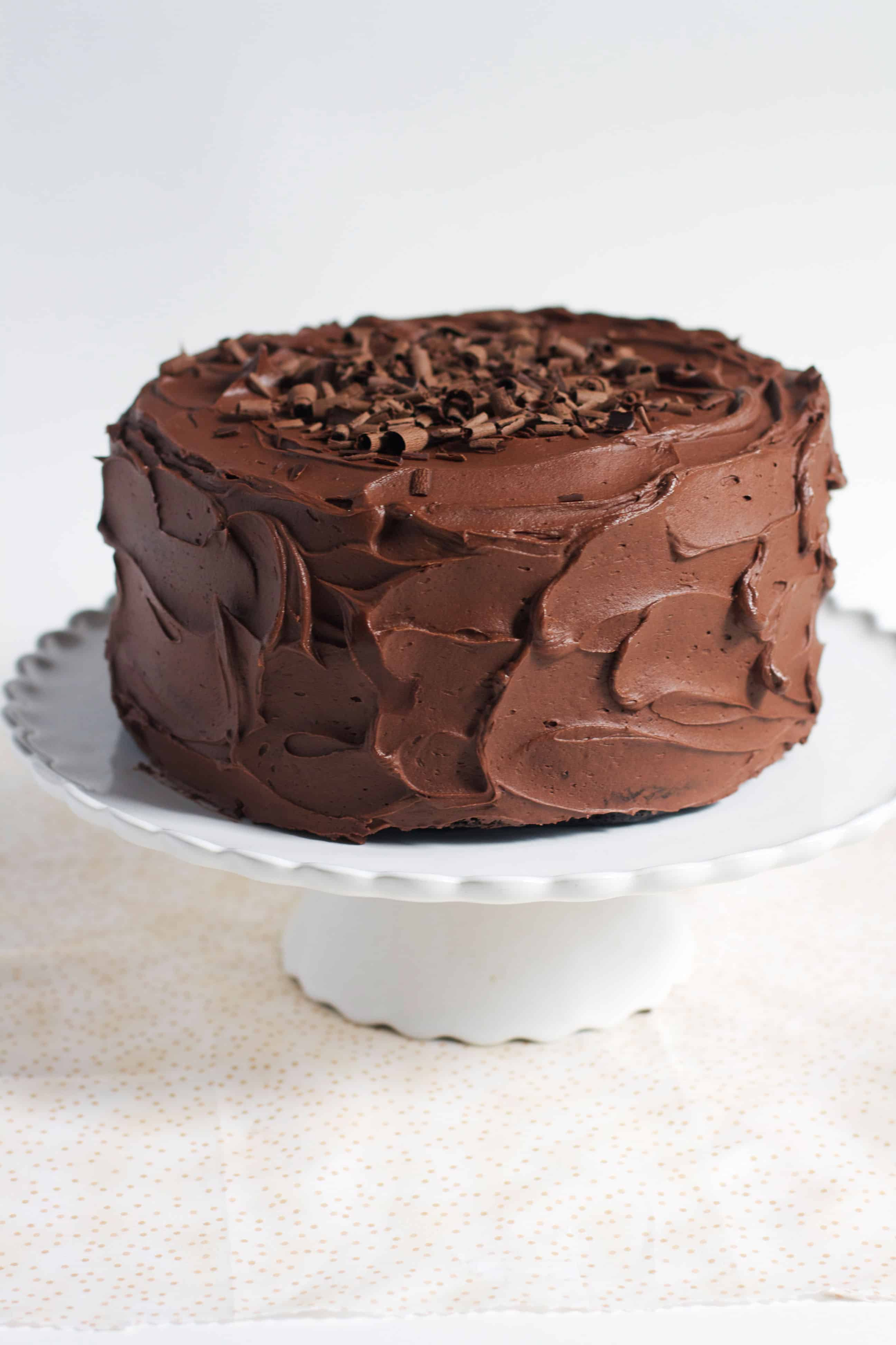 Classic One Bowl Chocolate Cake