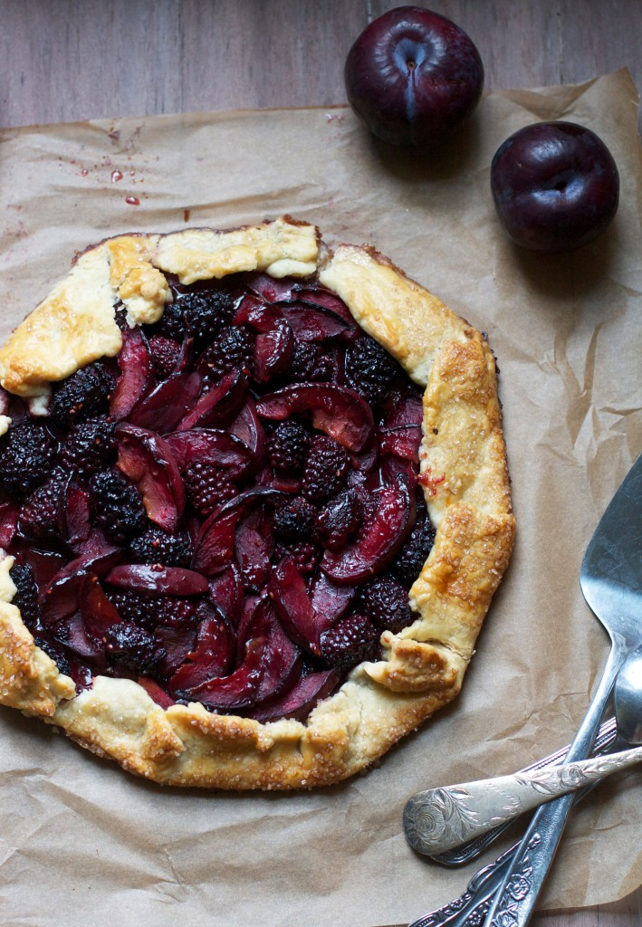 Blackberry Plum Galette
