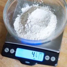 How to Measure Flour and an OXO Giveaway!