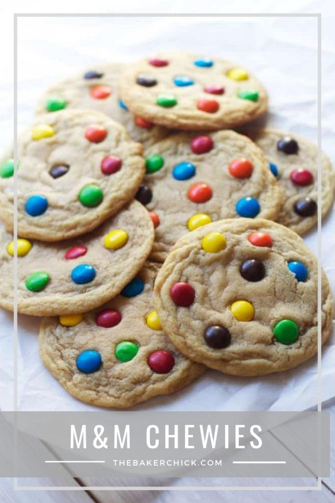 M&M Chewies #holidaycookies #cookies #chewycookie
