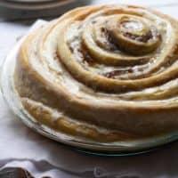 Gooey Cinnamon Roll Cake