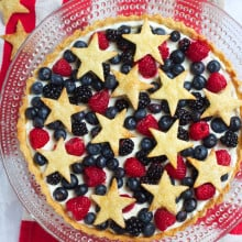 Star Spangled Berry Tart