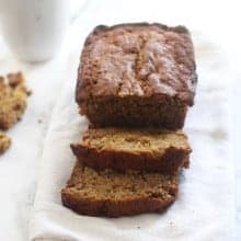 The Best Banana Bread Recipe (ever.)