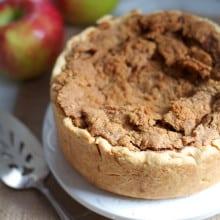 Deep Dish Sour Cream Apple Pie