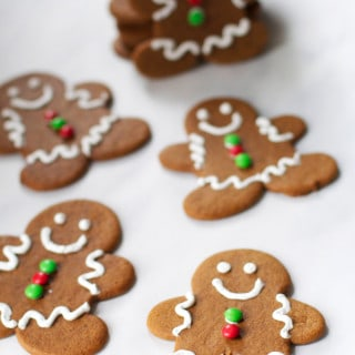 Soft and Chewy Gingerbread Men