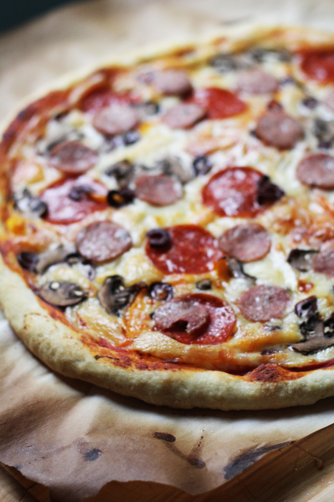 Perfect Homemade Pizza Crust