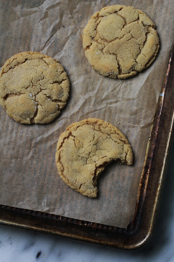 Perfect Peanut Butter Cookies for Two
