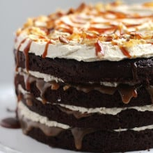 Sweet and Salty Layer Cake