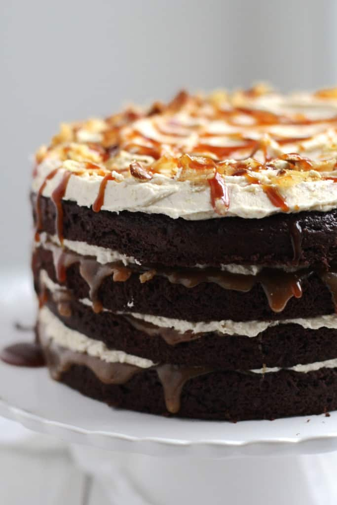 Sweet & Salty Layer Cake