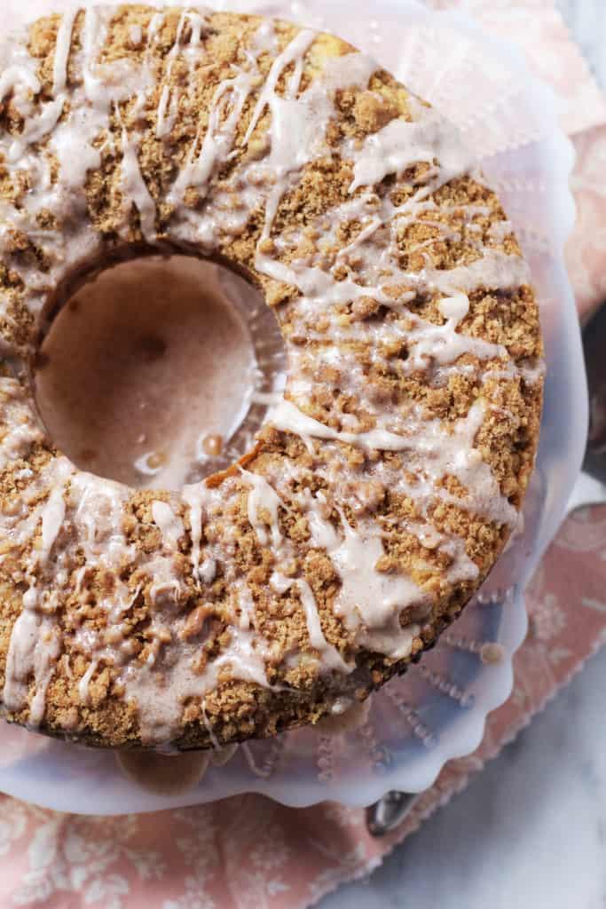 Triple Cinnamon Coffee Cake