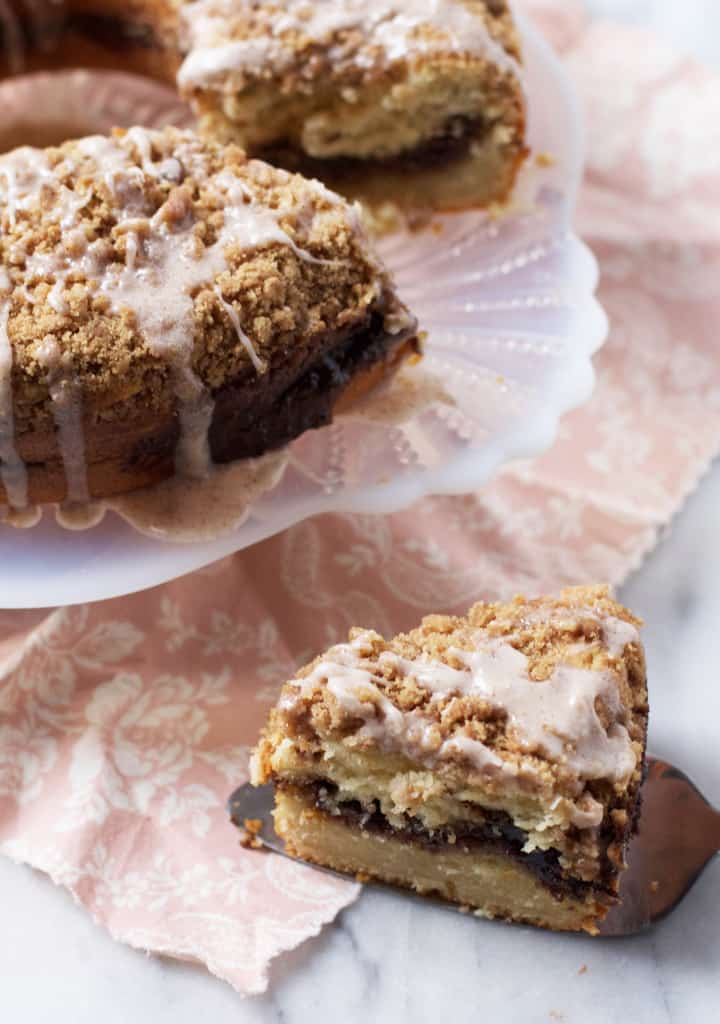 Triple Cinnamon Coffee Cake