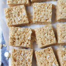 Salted Brown Butter Krispie Treats