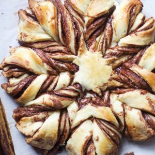 Braided Nutella Pastry