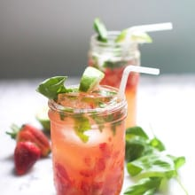 Strawberry Basil Smash