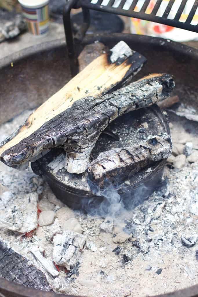 Campfire Cinnamon Rolls