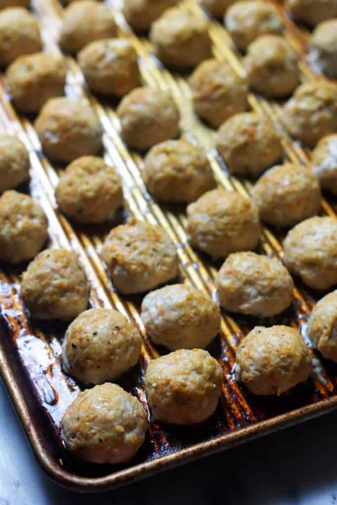 Turkey & Cheese Meatballs