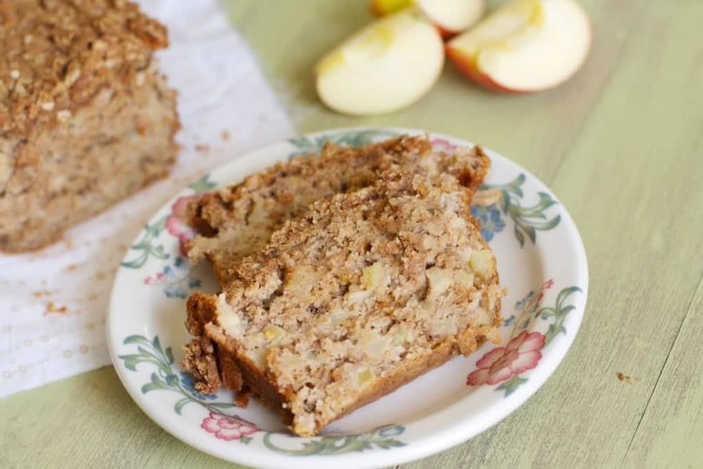 Apple Spice Crumb Bread