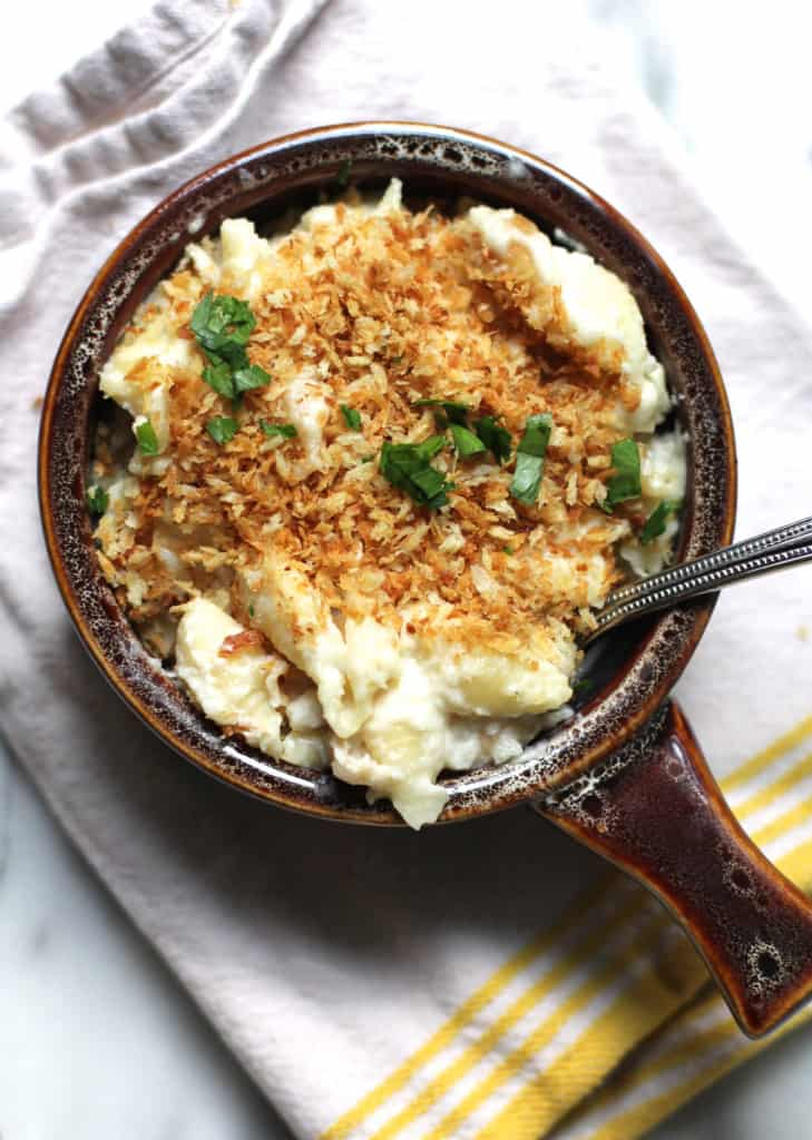 Creamy Cauliflower Shells and Cheese