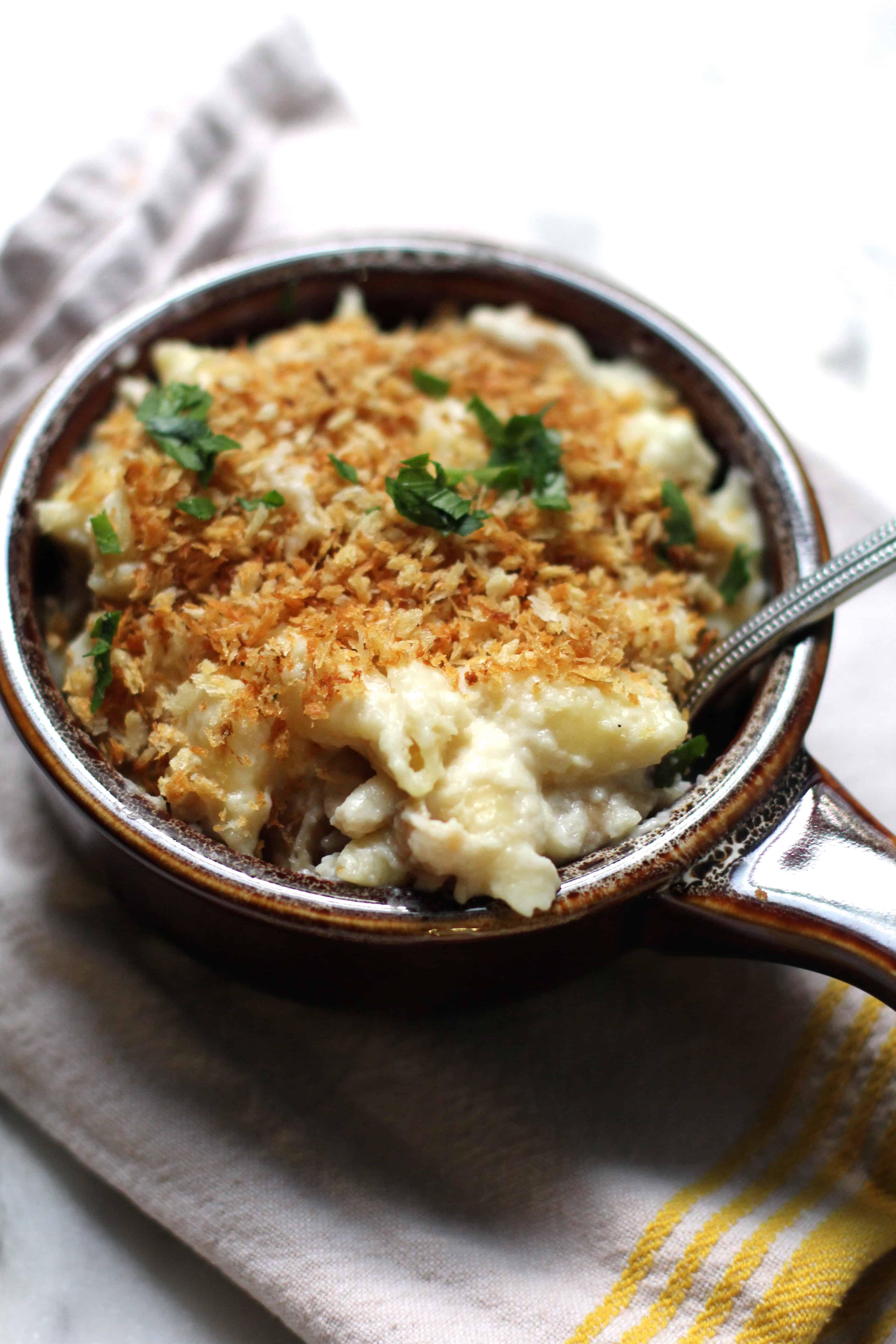 Creamy Cauliflower Shells and Cheese