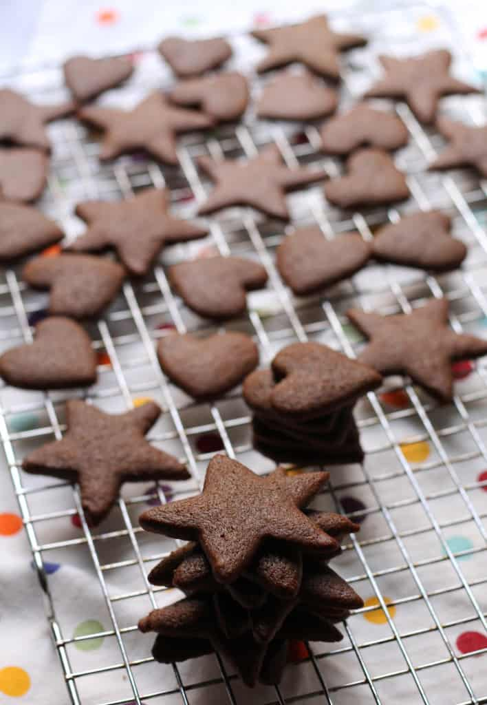All Natural Gingerbread Cut-outs