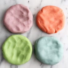 Homemade Aromatherapy Play-dough