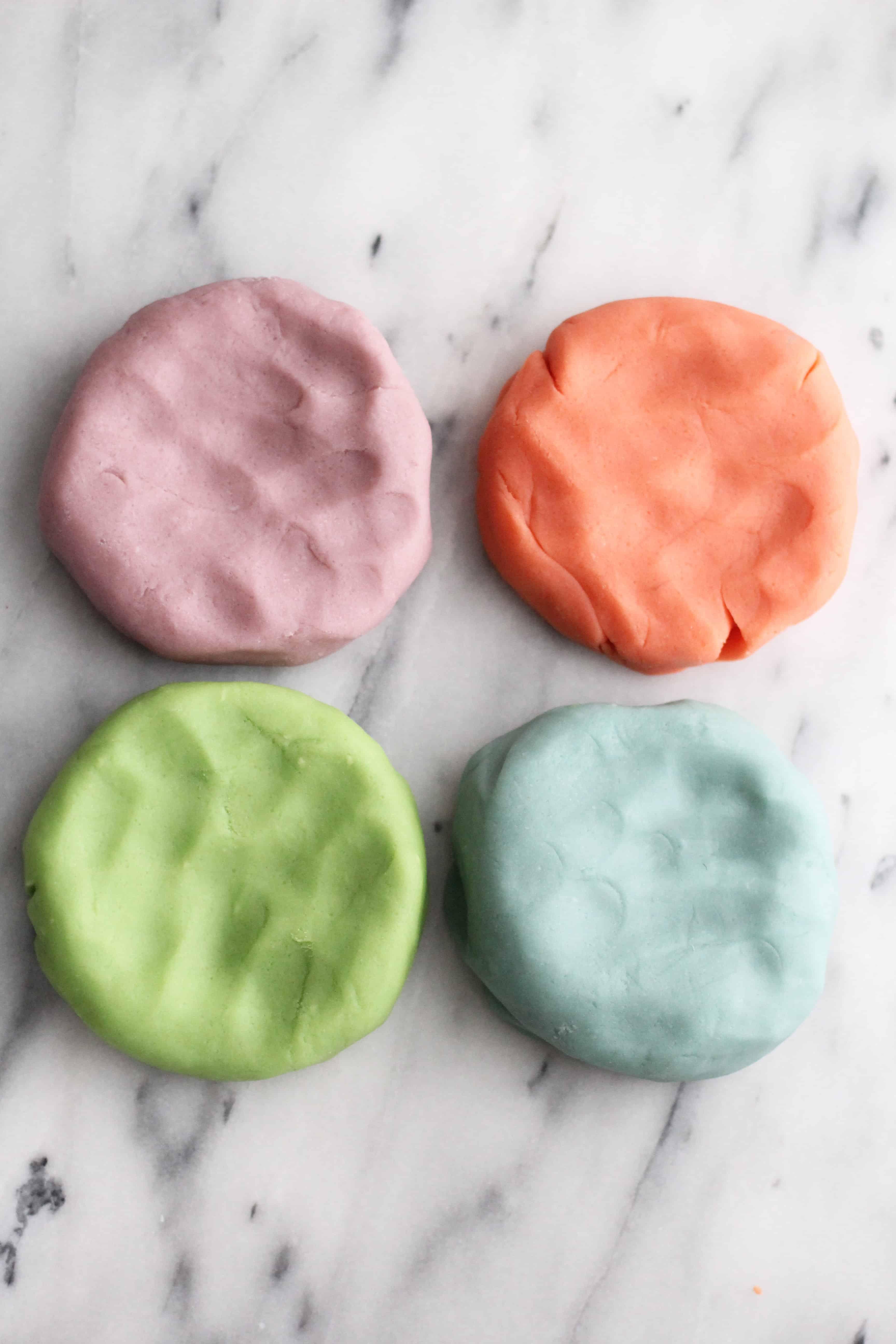 Homemade Aromatherapy Play-dough