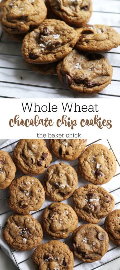 Whole Wheat Chcolate Chip Cookies