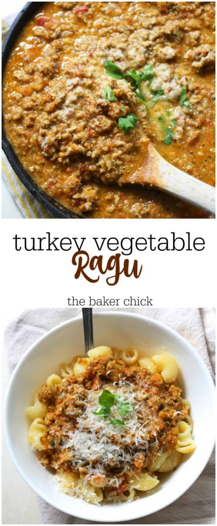Turkey Vegetable Ragu
