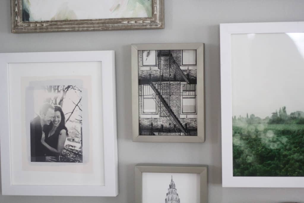New House Sneak Peek, (and a gallery wall from Minted!)