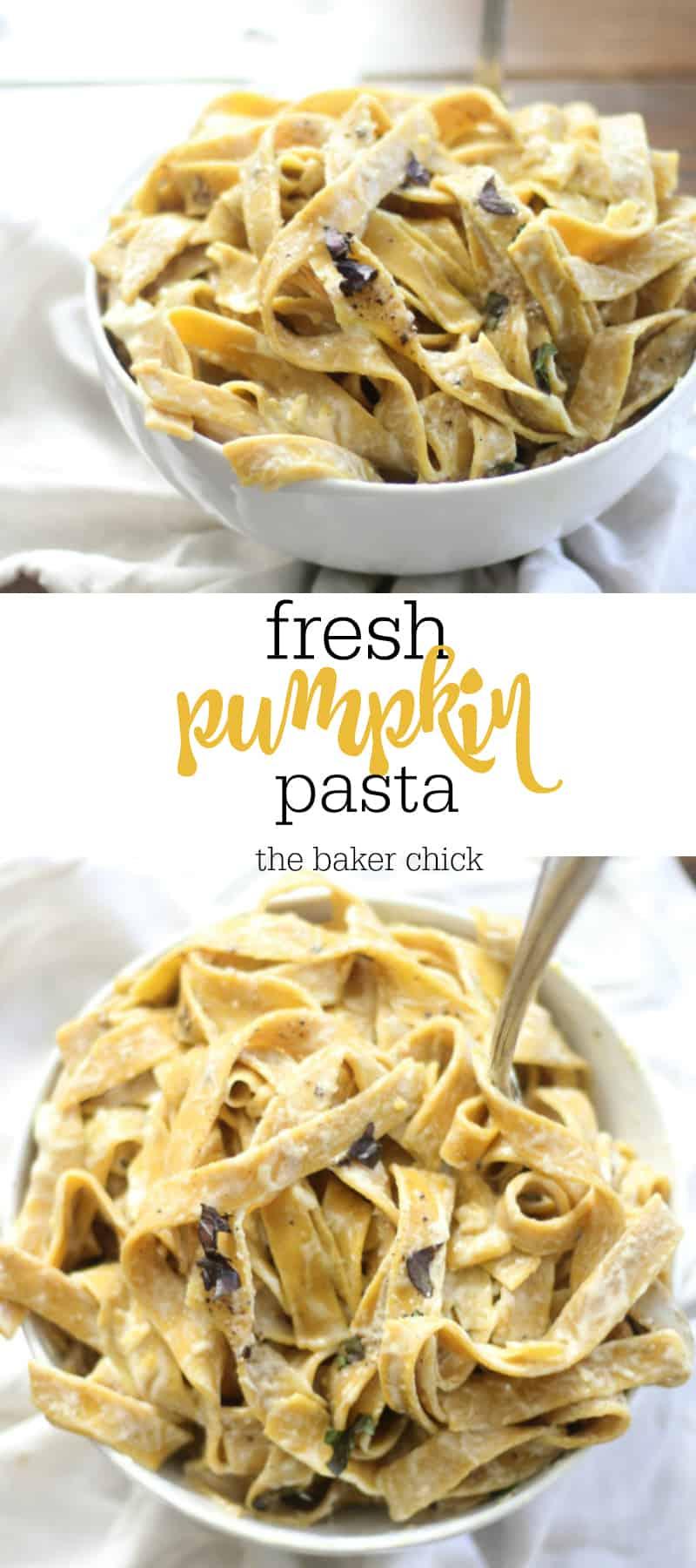 Pumpkin Pasta Dough Recipe — Dishmaps