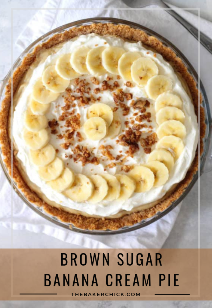 Brown Sugar Banana Cream Pie