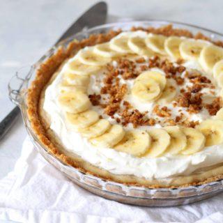 Brown Sugar Banana Cream Pie