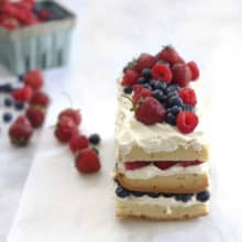Layered Berry Pound Cake
