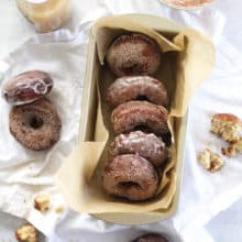 Apple Cider Donuts (two ways!)