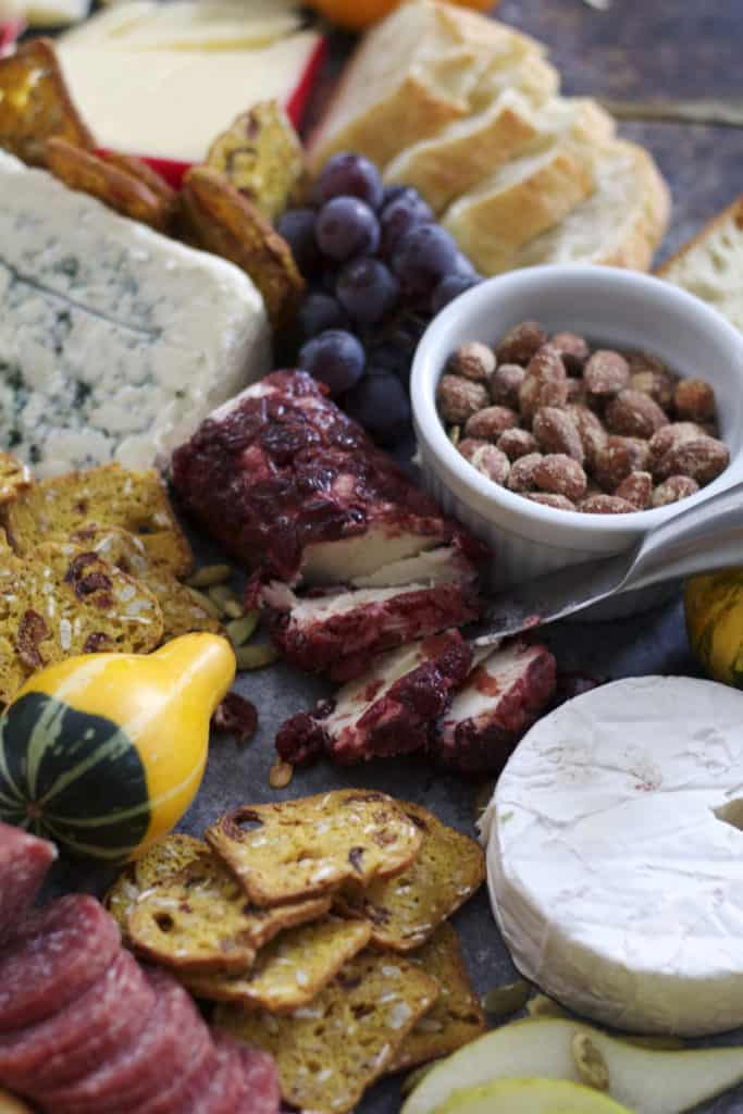 Fall Harvest Cheeseboard