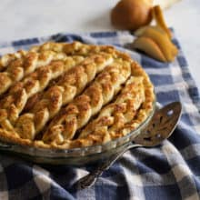 Chai-Spiced Pear Pie