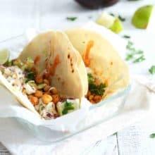 Smoky Chickpea Tacos